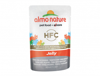 ALMO HFC Cats Jelly - tuna and whitebait