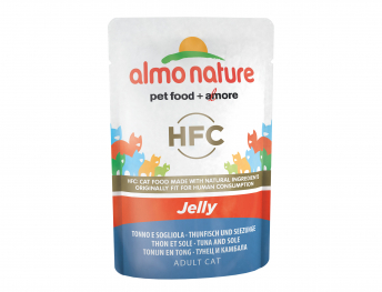 ALMO HFC Cats Jelly - with tuna and sole