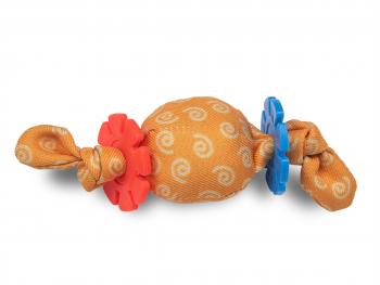 Speelgoed kat balletje ring
