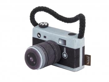Speelgoed hond Globetrotter fototoestel