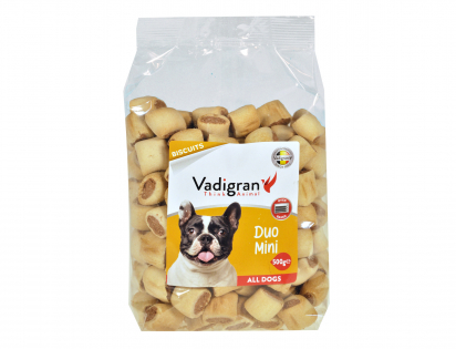 Snack chien Biscuits Duo Mini 500g