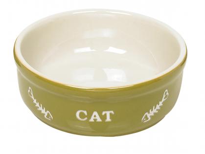 """Eetpot kat aardewerk """"Cat"""""""