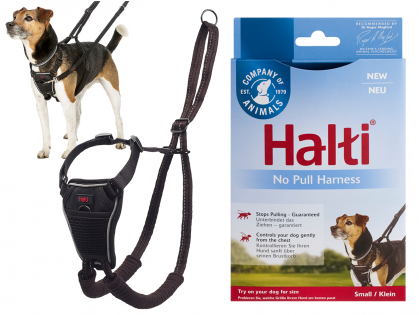 HALTI No Pull Harness black S