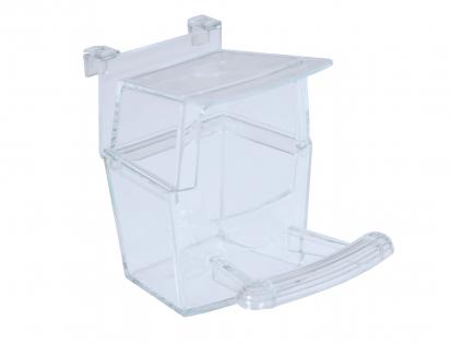 Eetbak plastiek transparant