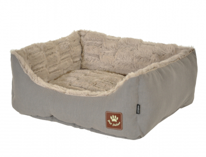 Basket Asma taupe/grey 75x60x23cm