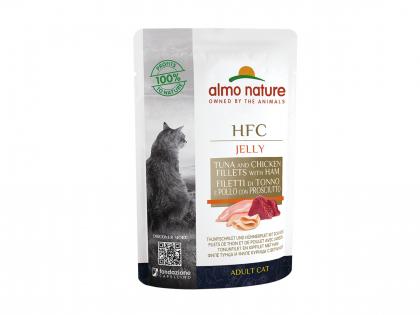 HFC Jelly - thon, poulet et jambon 55g
