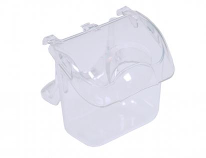 Feedercup plastic transparent