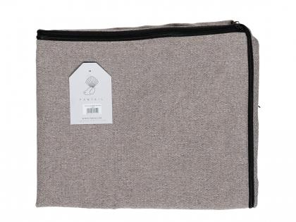 Hoes Snug 100x80cm Nut grey