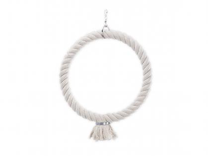 Bird toy ring cotton 46cm M