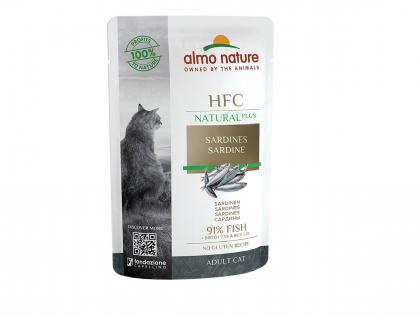 HFC Natural plus - sardines 55g