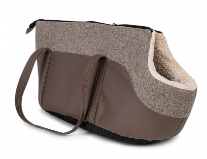 Pet carrier Leto brown