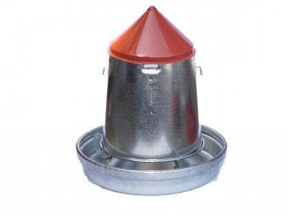 Galvanized feeding silo