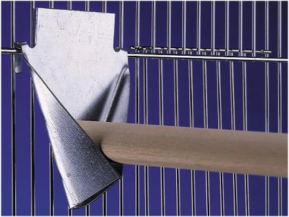 Stokhouder metaal 15x18cm