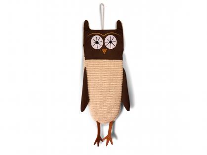 Scratching board owl