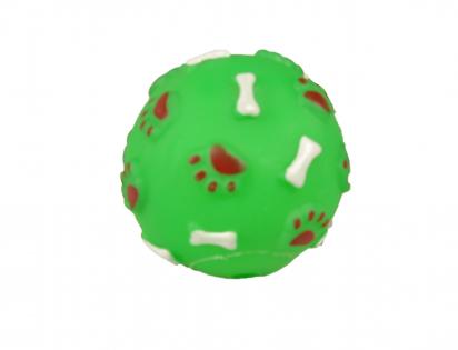 Squeaker ball green