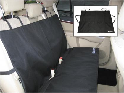 Car seat Wooff zwart