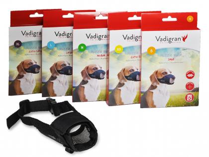 Adjustable nylon muzzle