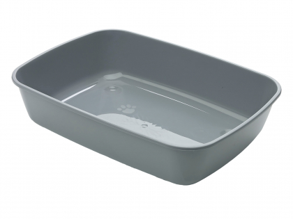 "Cat litter tray Iris 50"" anthracite 50x36,5x11,5c"