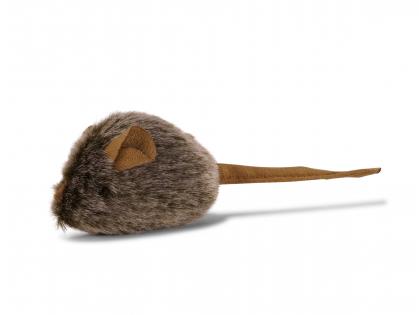 Speelgoed kat pluche piepende muis