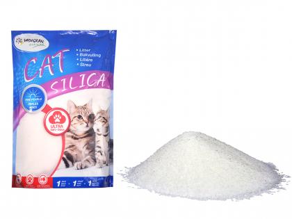 Cat Litter Silica Perles Fines 15kg