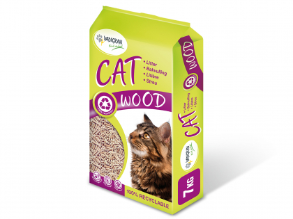 Cat litter Wood