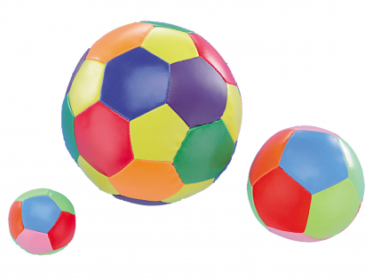Speelgoed hond Softbal veelkleurig