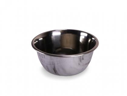Feeding bowl Selecta marble look&stainl.stl 450ml