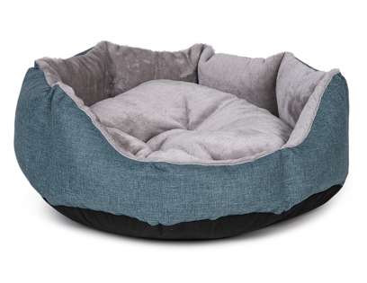 Basket round Ares turquoise
