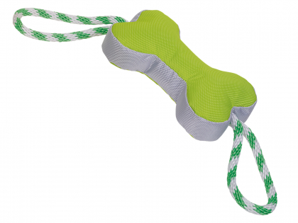 Robuste bone with rope green