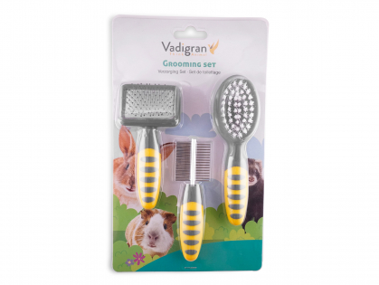 Grooming set for rodent