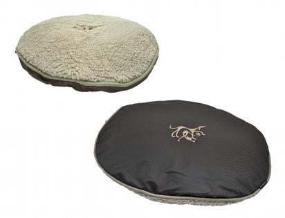 Cushion Coffee Oxford 70x60cm