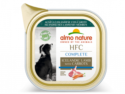 HFC Complete - Lamb with carrots 85g