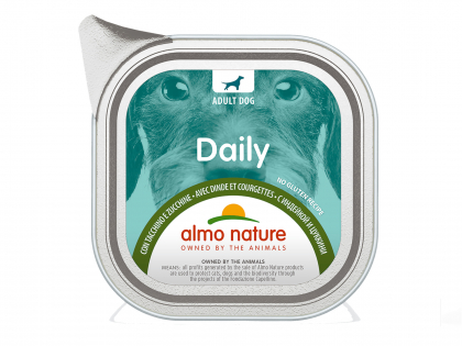 Daily Dogs 100g avec Dinde et Courgette