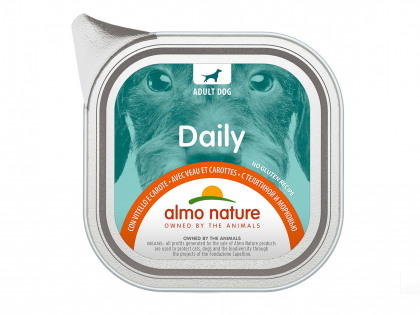 Daily Dogs 100g with Veal and Carrots