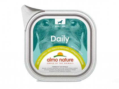 Daily Dogs 100g avec Poulet et Petit pois