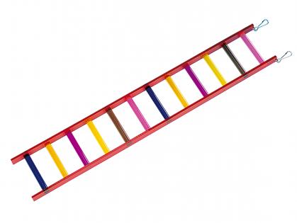 Speelgoed vogel ladder plexi
