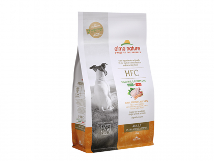 HFC Dry Adult XS-S - Kip 1,2kg