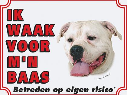 Waakbord Argijntijnse Bulldog