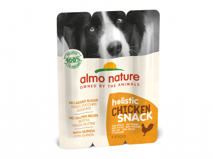 Holistic Snack 3x10g - with Chicken