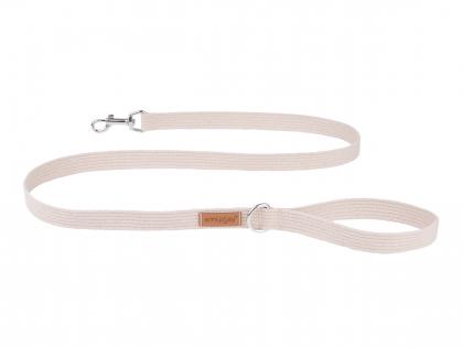 Ami Leash Cotton beige 140cmx15mm S