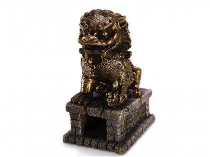 Aqua Deco Dragon statue