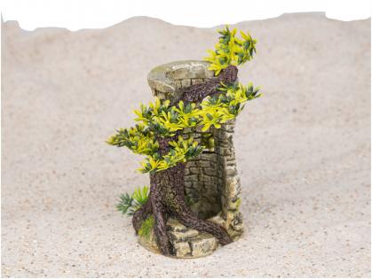 Aqua Deco Tower with bonsai