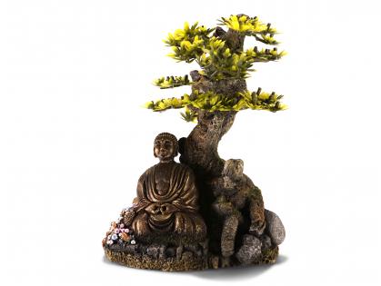 Aqua Deco Bonsai with Buddha
