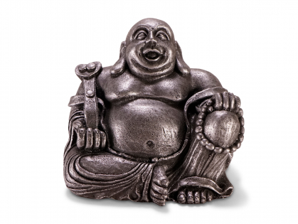 Aqua Deco Buddha zilver