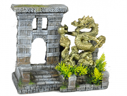 Aqua Deco Dragon gate