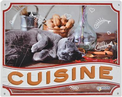Waakbord kat Cuisine