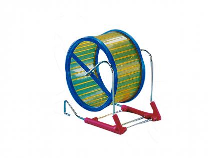 Hamster wiel metaal/plastiek 15cm
