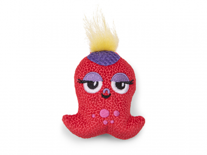 Speelgoed kat octopussy rood