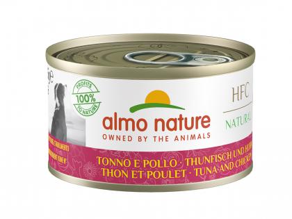 HFC Natural - Tonijn en kip 95g