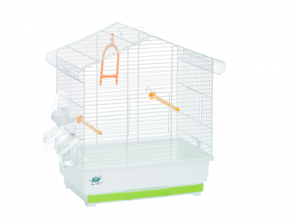 Cage little bird Ester white 41x27x50cm